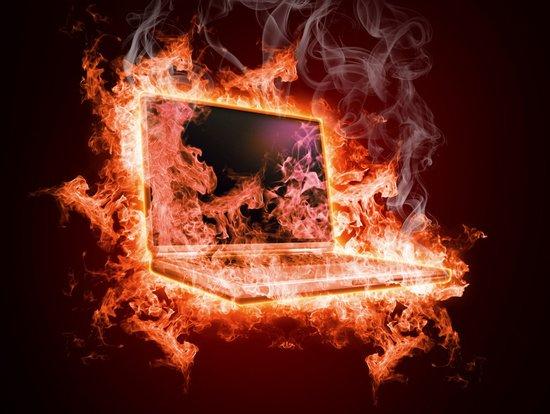 Почему ноутбук сильно греется, что делать? фото