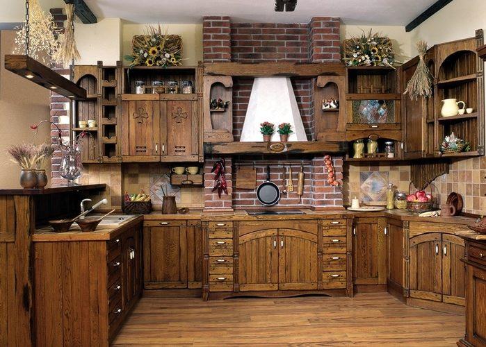 Как сделать кухню в стиле кантри? фото