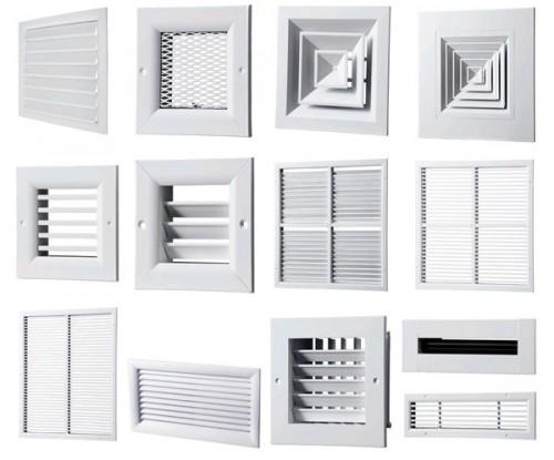 Как выбрать наружную вентиляционную решетку? фото