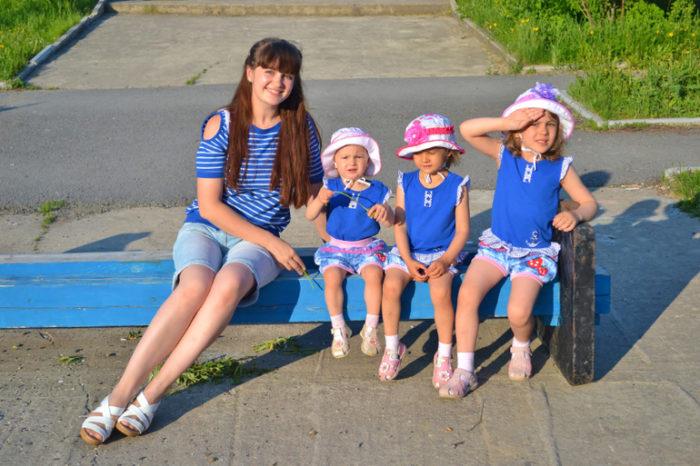 Тяжело ли иметь троих детей? фото