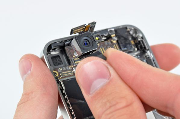 Как заменить заднюю камеру на iPhone 5S? фото
