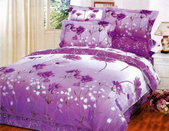 Как ухаживать за постельным бельем из разных тканей? - фото