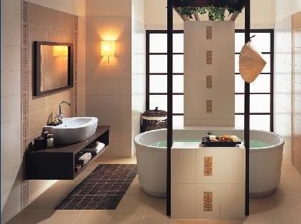 Как сделать ванную в японском стиле? фото