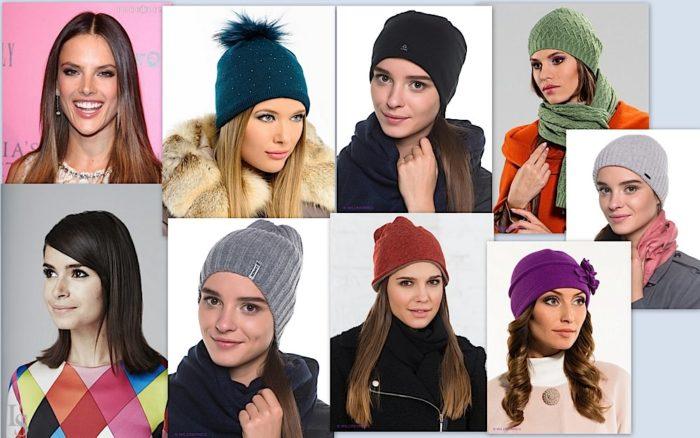 Как подобрать шапку по форме лица? фото