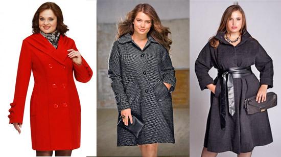Как правильно выбирать фасон пальто для полных женщин? фото