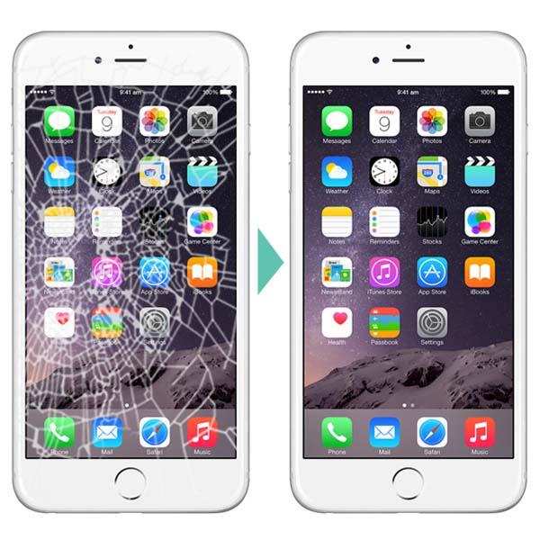 Почему замена стекла на айфоне 6 плюс дешевле, чем замена всего дисплейного блока? фото