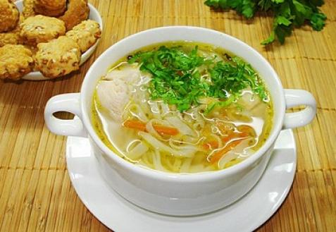 Как приготовить куриный суп? фото