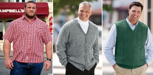 Как подобрать одежду для полных мужчин? фото