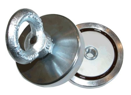 Односторонний или двухсторонний поисковый магнит: какой лучше? фото
