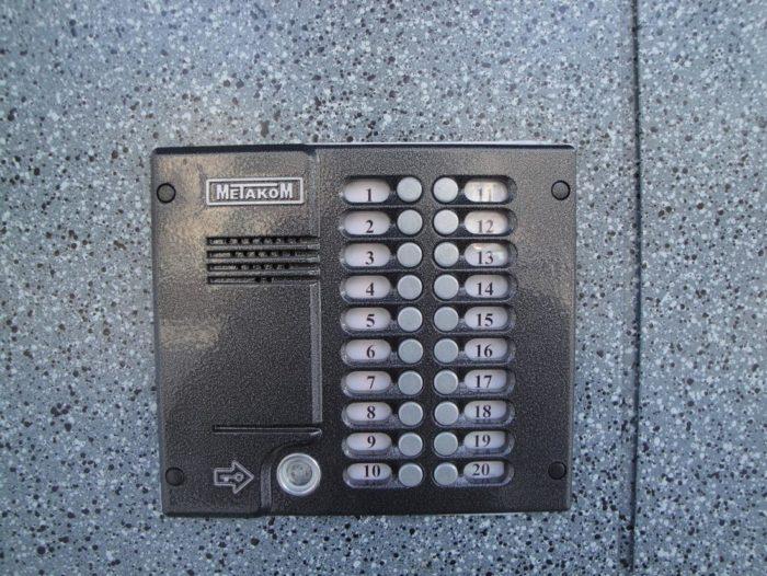 Как открыть домофон Метаком без ключа? фото