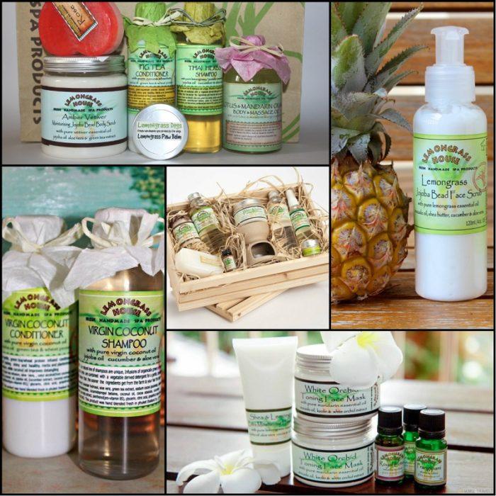Органический тайский шампунь Lemongrass House для увлажнения и ухода за волосами. фото