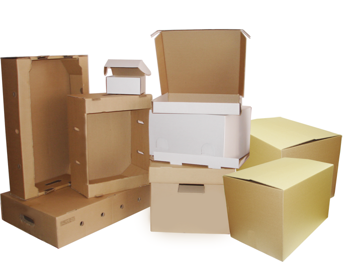 В чем преимущества картонных коробок? фото