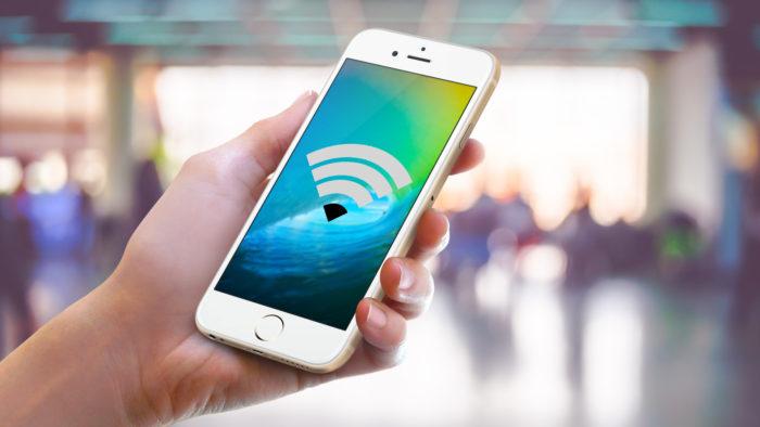 Почему iPhone 7 не подключается к WI FI? фото