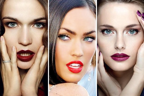 Как подобрать цвет помады по цвету кожи, глаз, волос? фото