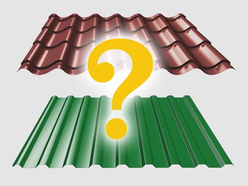 Что лучше для крыши: металлочерепица или профнастил? фото