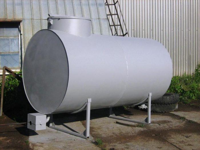 Какие бывают металлические резервуары? фото