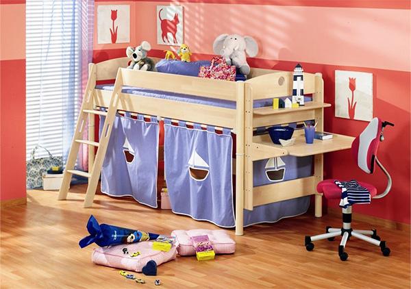 Как выбрать кровать для ребенка от 3 лет? фото