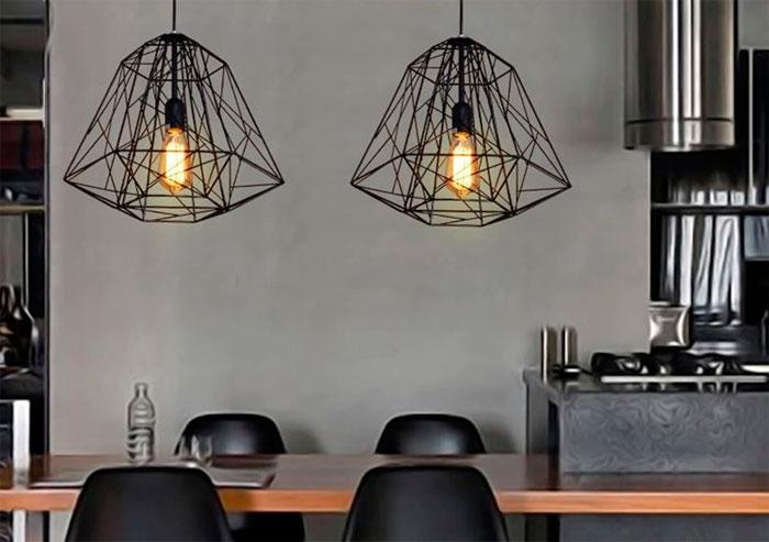 Как выбрать освещение для интерьера в стиле лофт? фото