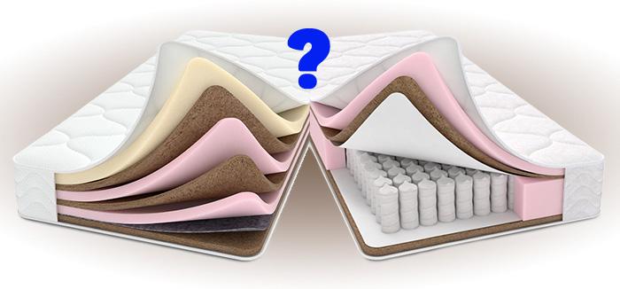 Какой матрас лучше: пружинный, латексный или полиуретановый? фото