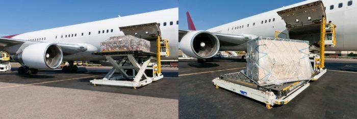 Как перевозят грузы по воздуху? фото