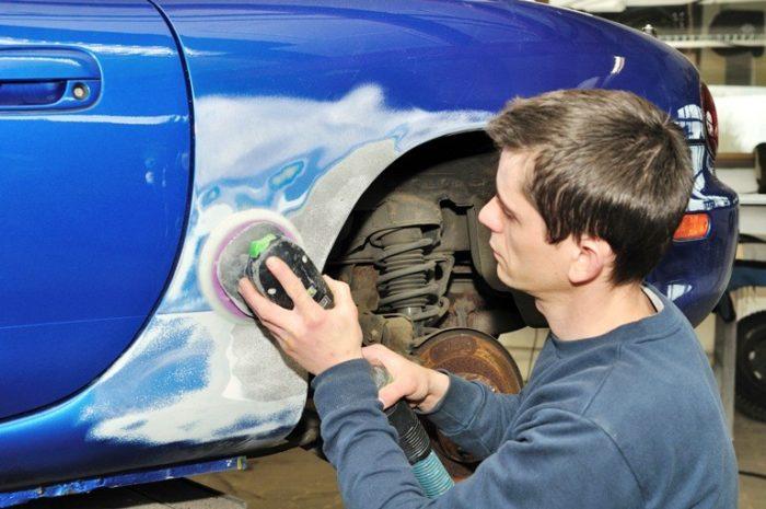 Как подготовить автомобиль к покраске? фото