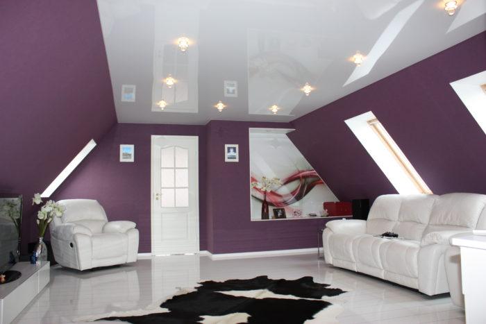 Какой натяжной потолок выбрать: ПВХ или тканевый? фото