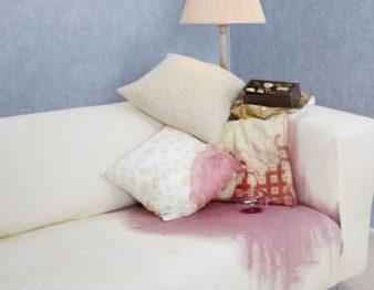 Как почистить мягкую мебель от пятен? фото