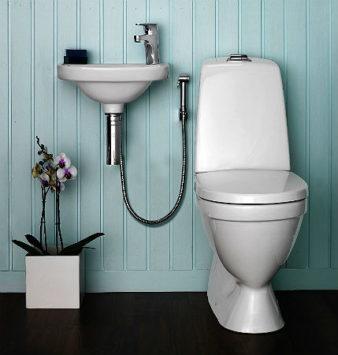 Зачем нужны смесители с гигиеническим душем? фото