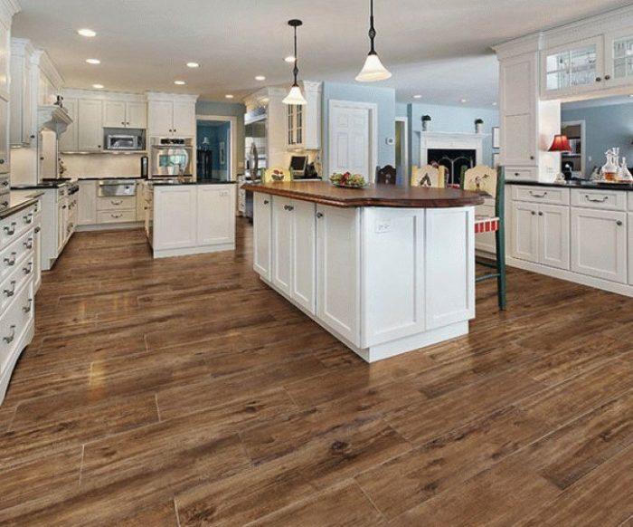 Как выбрать напольную плитку для кухни? фото