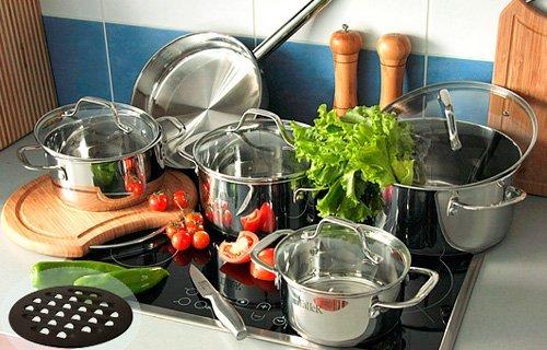 Какая посуда самая лучшая для приготовления пищи? фото