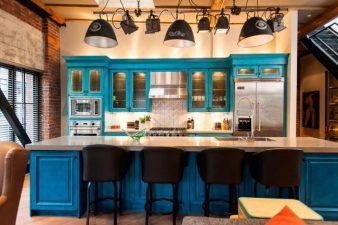 Как сделать кухню в стиле лофт? фото