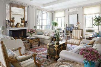 Как оформить гостиную в стиле винтаж? фото
