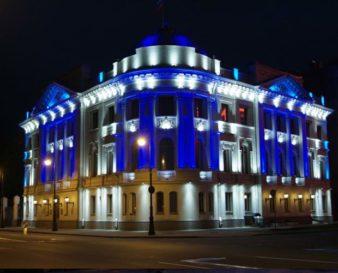 Какие бывают виды архитектурного освещения зданий? фото