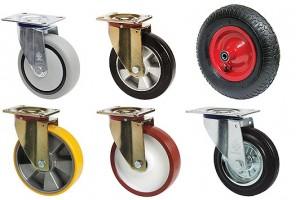 Как правильно подобрать колеса для тележки? фото