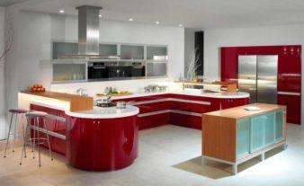 Как сделать кухню в стиле хай тек? фото