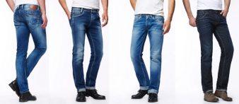 Как выбрать мужские джинсы по фигуре? фото