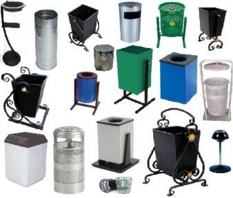 Какую выбрать уличную урну для мусора? фото