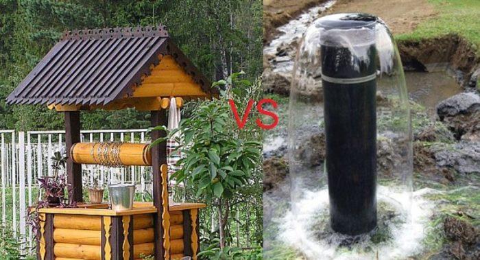 Что выбрать: колодец или скважину? фото