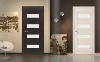 Какие лучше выбрать двери шпон или экошпон? фото
