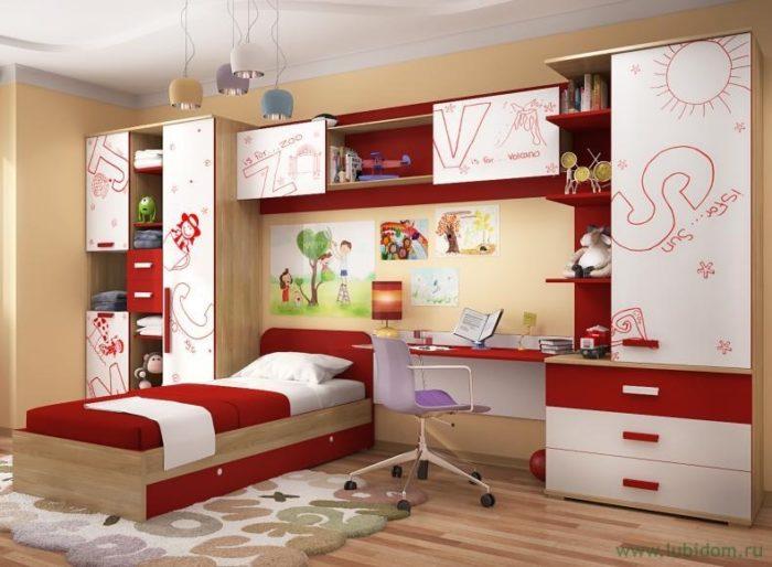 Как подобрать мебель в детскую комнату? фото