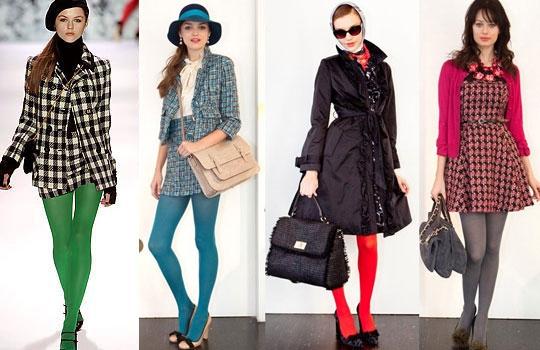 Как правильно подобрать цвет колготок к платью? фото
