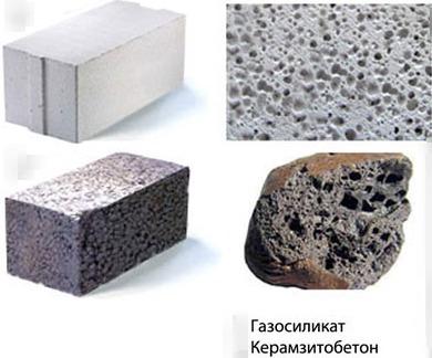 Керамзитобетонные или газобетонные блоки: что лучше? фото