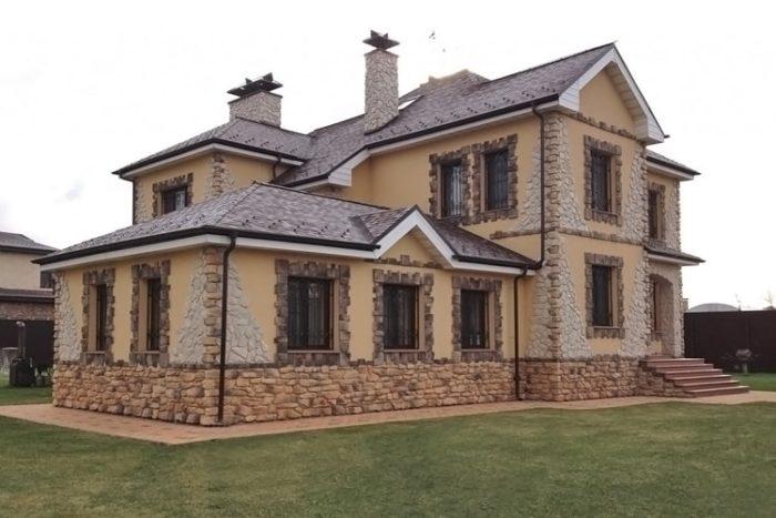 Какой материал выбрать для отделки фасада дома? фото