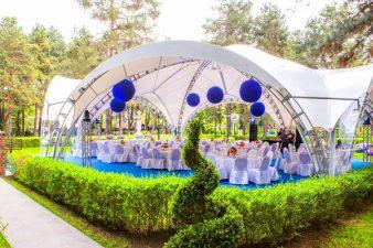 Как выбрать шатер для свадьбы? фото