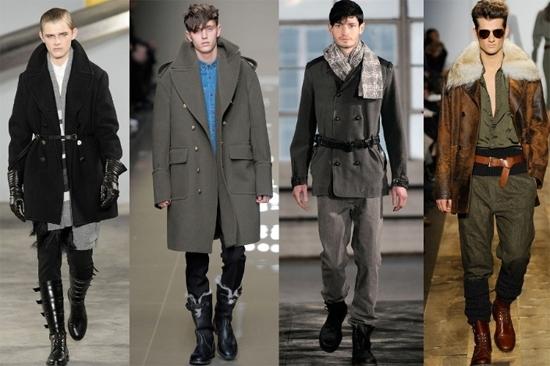 Как подобрать мужскую одежду в стиле милитари? фото