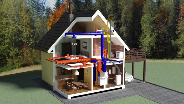 Какое отопление выбрать для загородного дома? фото