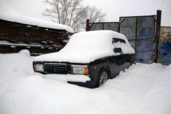 Как завести ВАЗ 2107 зимой? фото