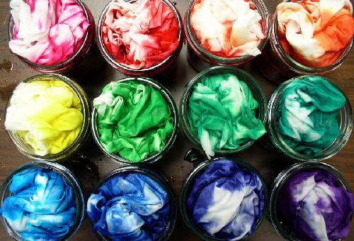 Как покрасить синтетическую ткань? фото