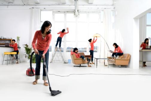 Как облегчить уборку квартиры? фото