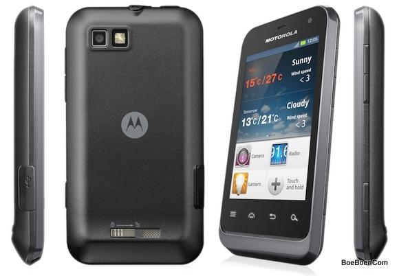 Motorola defy mini xt3